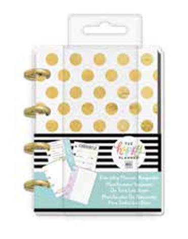 me & My Big Ideas The Happy Planner: Gold Dots Christmas Planner Keepsake (Pocket Size PLK-67) - Dots Keepsake