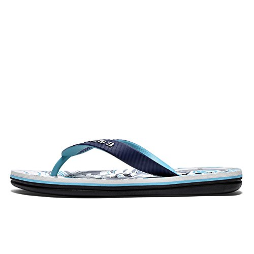 A Suave Inferior Chanclas Azul Sandalias Prueba La Resbalones Casuales Impresas Parte Sandalias Los Con 2018 Elegantes Playa Hombres De qS6pOZ