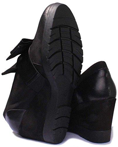 Justin Reece 3700 - Sandalias de Vestir de Piel Vuelta Para Mujer negro