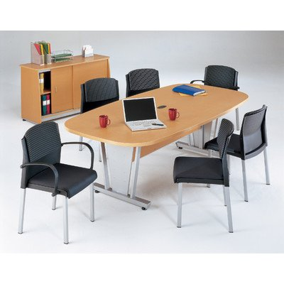 oval conference table - 9