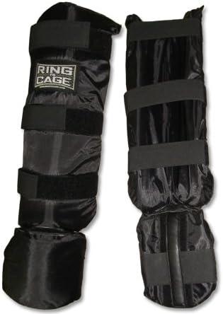 ULTRA FITNESS MMA Shin Instep Foam Padded Support Boxing Shin Guards
