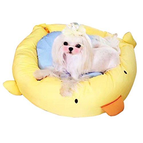 DEI QI caseta de Perro Creativo del Dibujo Animado, Nido de Mascotas extraíble y Lavable, sofá de la Estera del Perro de la...