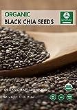 Organic Black Chia Seeds (2lb) by Naturevibe Botanicals, Gluten-Free & Non-GMO (32 ounces)