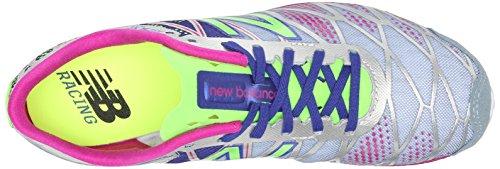 New Balance Womens WXC900 Spike Running Shoe Grey/Purple
