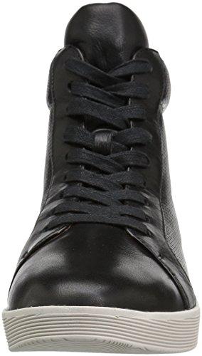 Douce Âmes Femmes Helka Hightop Lace-up Sneaker Noir