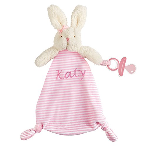 Bunny Pacifier - Mud Pie Pink Bunny Pacy Cuddler