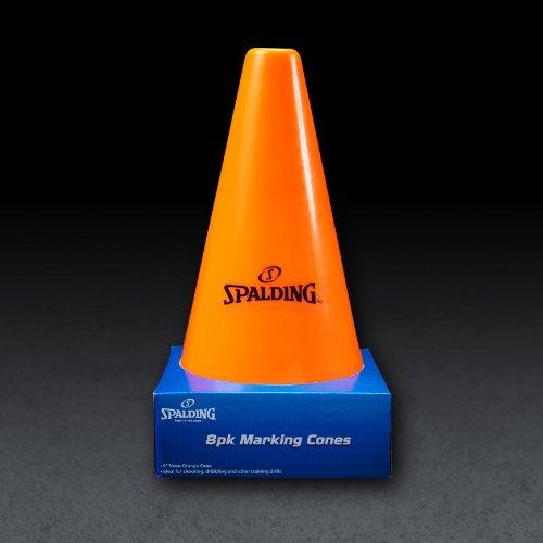 Spalding Training Cones (8-Pack), Orange by Spalding