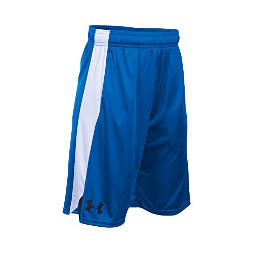 Under Armour Boys' Eliminator Shorts, Ultra Blue/Black, Youth Large