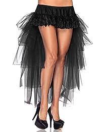 Leg Avenue Women's Long Tulle Bustle Skirt