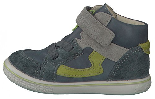 Ricosta Benni Garçon Hautes Sneakers Gris wwxq0fHrd
