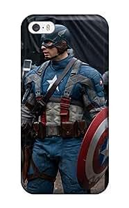[apURAVU2094rUQLY]premium Phone Case For Iphone 5/5s/ Captain America Tpu Case Cover