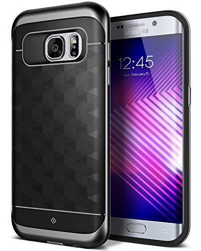 Caseology [Parallax Series] Galaxy S7 Edge Case - [Award Winning Design] - Black