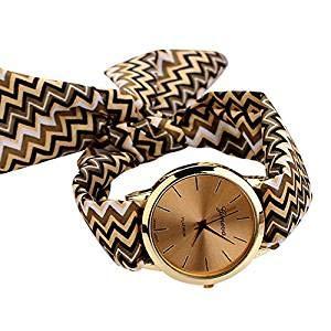 IMBSB Pulseras Mujeres Relojes Vintage Relojes Hechos a Mano Estilo Nacional de Ginebra Que tejen el