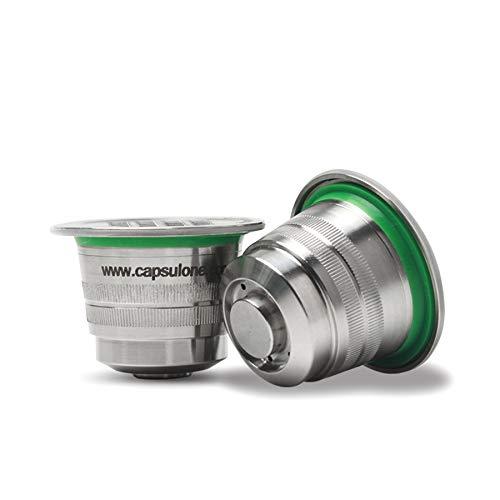 Cápsulas de cápsula de acero inoxidable reutilizables para ...