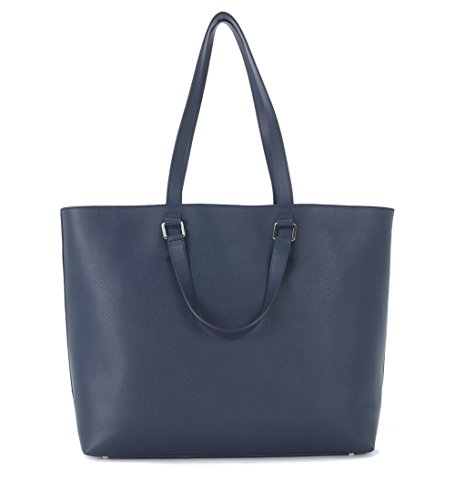 Borsa business Furla Marte in pelle blu