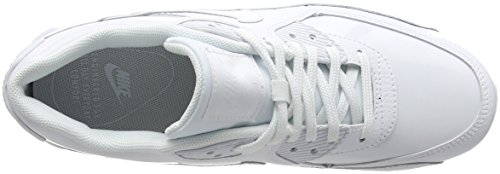 de Air Nike Gymnastique Whitewhitewhite Max Blanc 90 101 Chaussures Leather Femme WMNS Cassé PYqR5qwr6