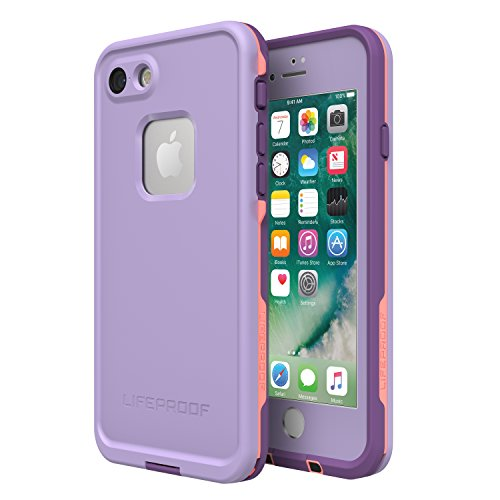 (Lifeproof FRĒ SERIES Waterproof Case for iPhone 8 & 7 (ONLY) - Retail Packaging - CHAKRA (ROSE/FUSION CORAL/ROYAL LILAC))