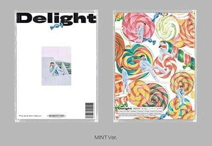 Amazon Com Exo Baekhyun Delight 2nd Mini Album Mint Version Cd