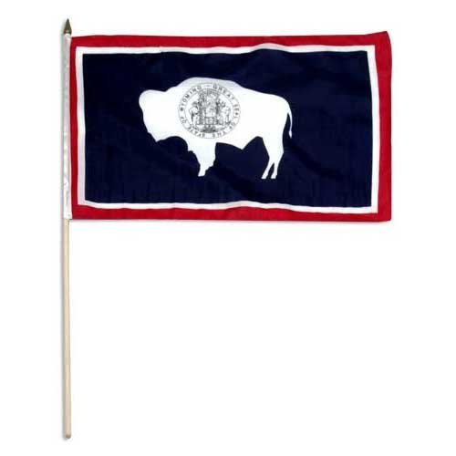 Us Flag Store Wyoming Flag, 12 by 18-Inch