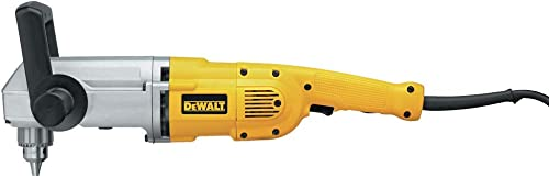 DEWALT Right Angle Drill, 1 2-Inch, 11 1 2-Amp DW124