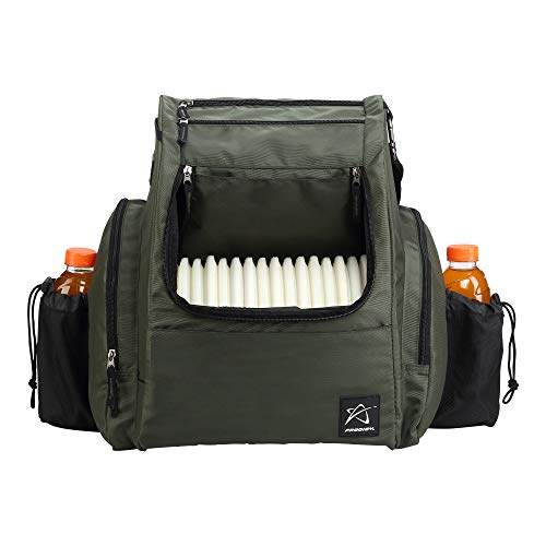 Prodigy Disc BP-2 Backpack - 2019 Model - Fits 25 Discs (Green/Black, No Rainfly)
