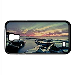 Frozen Rocks Watercolor style Cover Samsung Galaxy S6 (Beach Watercolor style Samsung Galaxy S6
