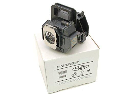 Beamerlampe, Ersatzlampe passend für EPSON EH-TW2800, EH-TW2900, EH-TW3000, EH-TW3200, EH-TW3500, EH-TW3600, EH-TW3800, EH-TW4000, EH-TW4400, EH-TW4500, EH-TW5000, EH-TW5500, EH-TW5800, EH-TW8500, EMP-TW3800, EMP-TW5000, EMP-TW5500, H291A, H292A, H293A, H337A, H373B, H700, HOME CINEMA 6100, HOME CINEMA 6500UB, PowerLite 9700UB, PowerLite HC 6100, PowerLite HC 6500UB, PowerLite HC 8100, PowerLite HC 8345, PowerLite HC 8350, PowerLite HC 8500UB, PowerLite HC 8700UB, PowerLite PC 7100, PowerLite PC 7500UB, PowerLite PC 9100, PowerLite PC 9350, PowerLite PC 9500UB Projektoren, Alda PQ Lampenmodul mit Gehäuse