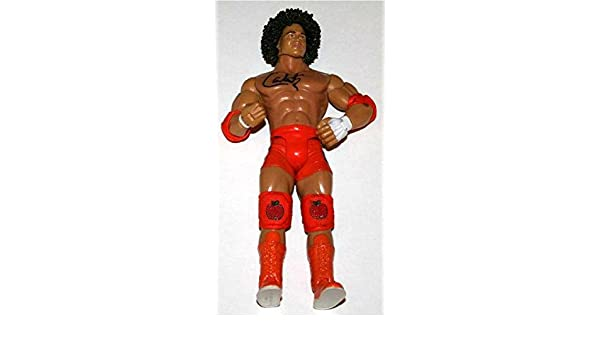 WWE Superstar CARLITO Signed Jakks Wrestling Figure - Autographed Wrestling  Cards at Amazon s Sports Collectibles Store f5ead8bb475b
