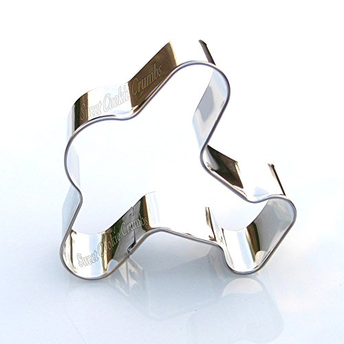 Airplane Cookie Cutter- Stainless Steel