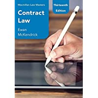 Contract Law (Macmillan Law Masters)