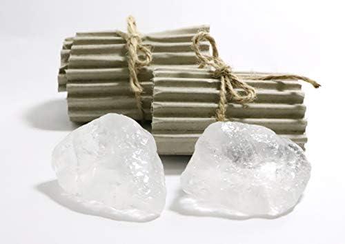 Natural Spa Supplies Ltd 2 piedras desodorantes de cristal de ...