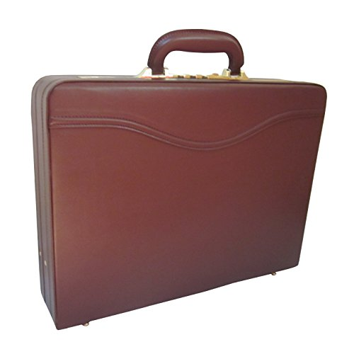 AmeriLeather Auden Executive Attache Case (Brown) - Executive Attache