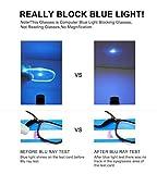 Blue Light Blocking Glasses 2pack Square Computer