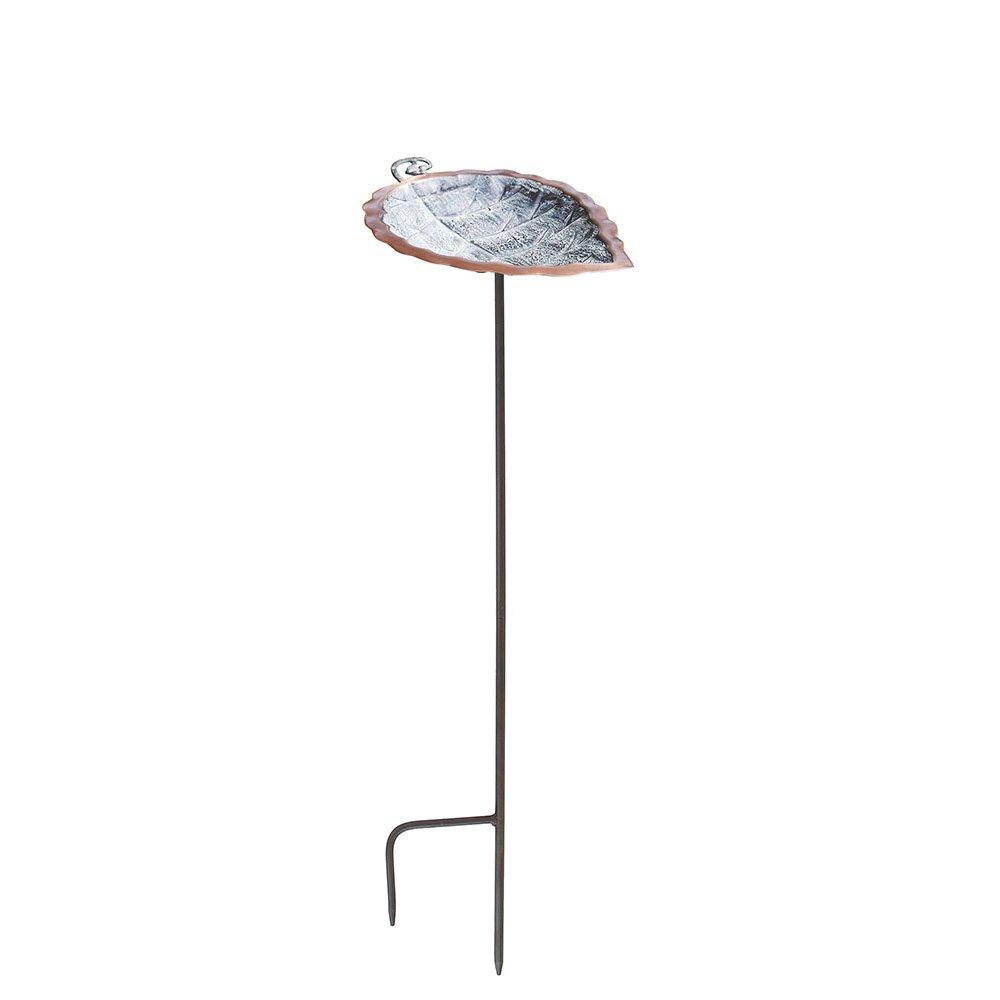 Achla Designs Aspen Leaf Birdbath with Stand BB-04-S