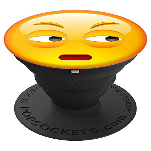 Emoji of Face With Rolling Eyes Emotion Best Gift - PopSockets Grip and Stand for Phones and Tablets