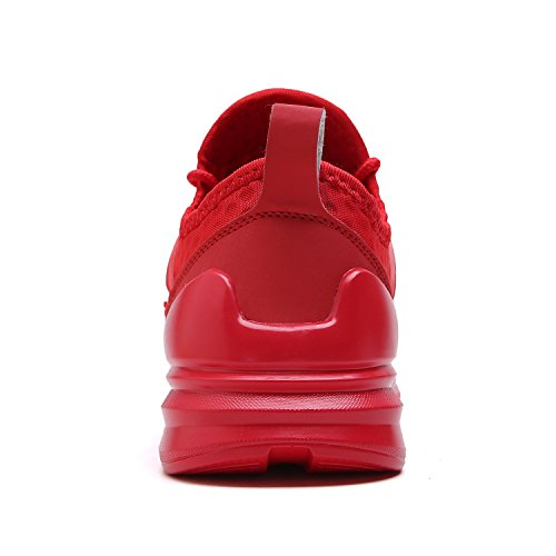 Zapatillas Deporte Hombre Zapatos de entrenamiento para hombre Malla Respirable Zapatillas Aptitud Ligero Deportes Zapatos para correr Por VITIKE Azul