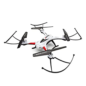 RC Drone, OOTTOO One Home Return 2.4GHz 4CH Quadcopter (Uav) 360 Degree Rolling Waterproof Drones with LED Light 400mAH Bonus Battery Helicopther-White from OOTTOO
