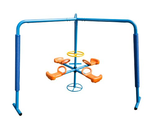 - Ironkids Four Station Fun Filled Merry Go Round