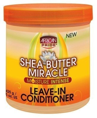 African Pride Shea Butter Miracle Leave-In Conditioner 15oz Jar (2 Pack) by African Pride