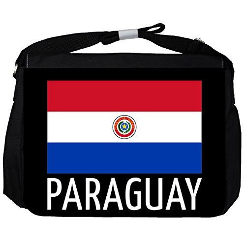 Paraguay -Flagge - Unisex-Umhängetasche