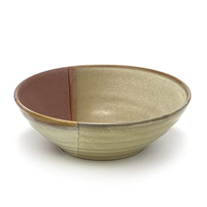 Amazon.com | Gold Dust Sienna by Sango, Stoneware Soup/Cereal Bowl ...