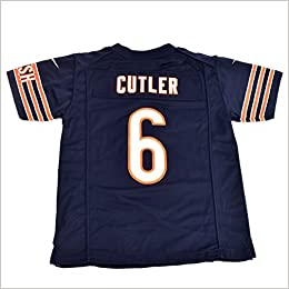the latest 727ab bda1f Amazon.com: Jay Cutler Chicago Bears Youth Game Jersey (Navy ...