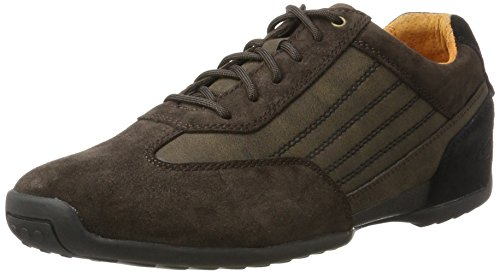 Camel Active Space 30, Sneakers Basses Homme Marron (Mocca/Black)