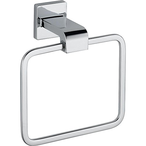 (Delta 77546 Ara Towel Ring, Polished Chrome )