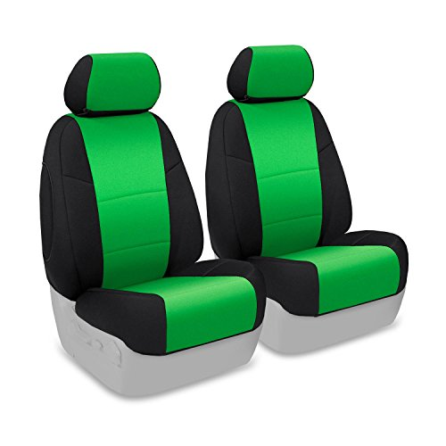 neon green bucket seat covers - 9