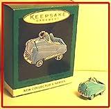 HALLMARK Miniature 1950s Pedal Car ornament