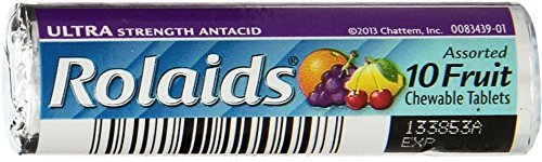 Rolaids Ult Tab Fruit Rol Size 10ct Rolaids Ultra Strength Tablets Fruit 10ct Roll