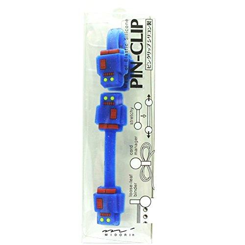 Midori Silicone Band, Pin-Clip Robot (43040006)