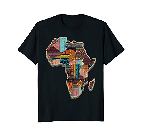 African Tribal Pattern Continent Africa T-Shirt by Morning Glass