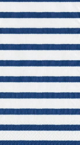Party Supplies Guest Towels or Paper Hand Towels Bretagne Blue 30 Count 4.5'' x 8''